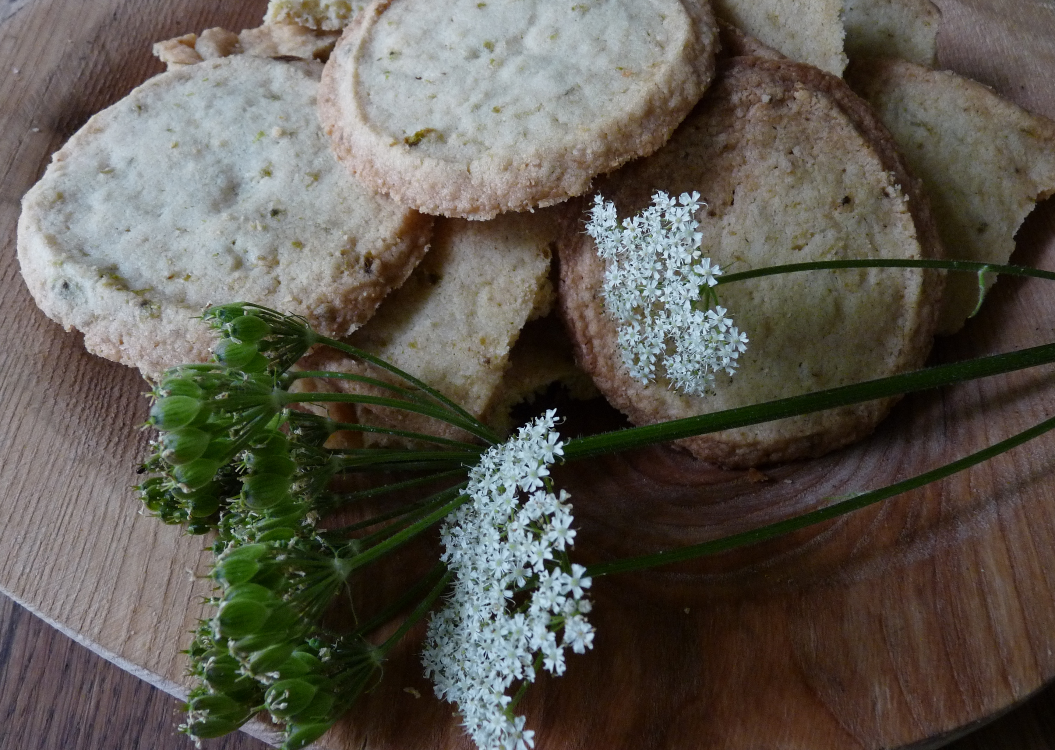 hogweed shortbread biscuits