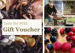 Taste the Wild Course Gift Vouchers